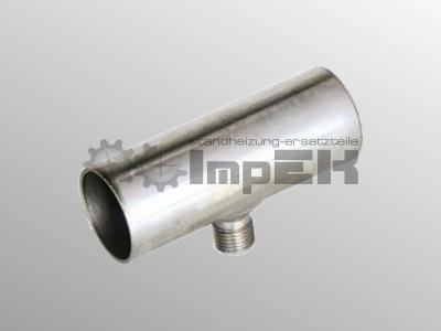Abgasverbinder 24 mm Kondensatablauf
