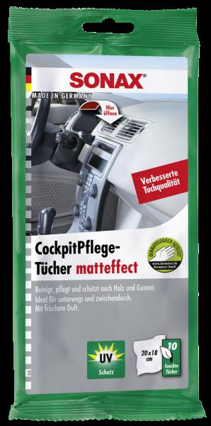 04158000 4064700415805 SONAX CockpitPflegeTücher matteffect