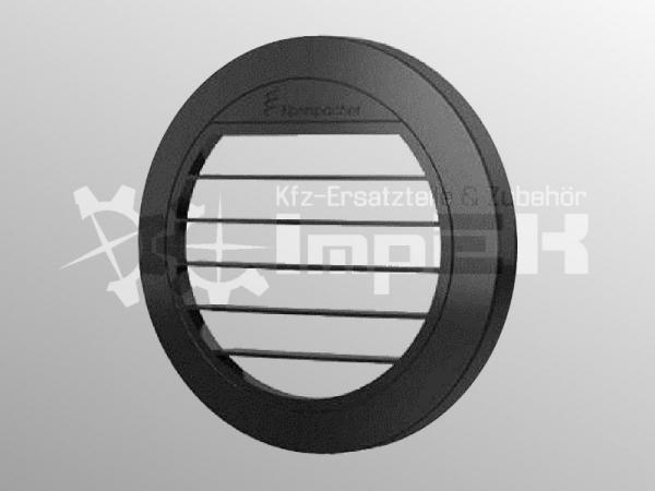 Original Eberspächer Ausströmer flach 0° ø75/90 mm schwarz