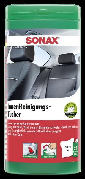 SONAX 04122000 4064700412200 InnenReinigungsTücher Box