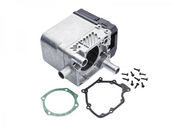 Burner head/Heat exchanger/Control unit