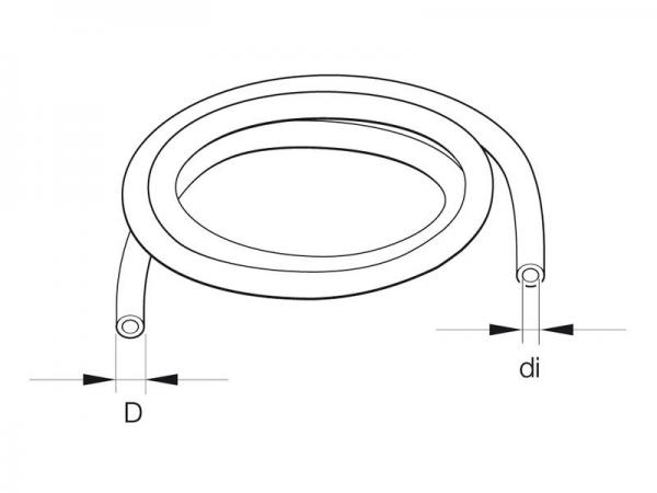 Eberspächer Brennstoffrohr 4x1 Standheizung Ersatzteile 89031138