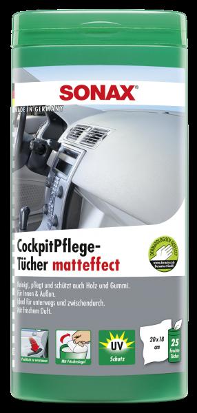 04158410 4064700415843 SONAX CockpitPflegeTücher matteffect Box