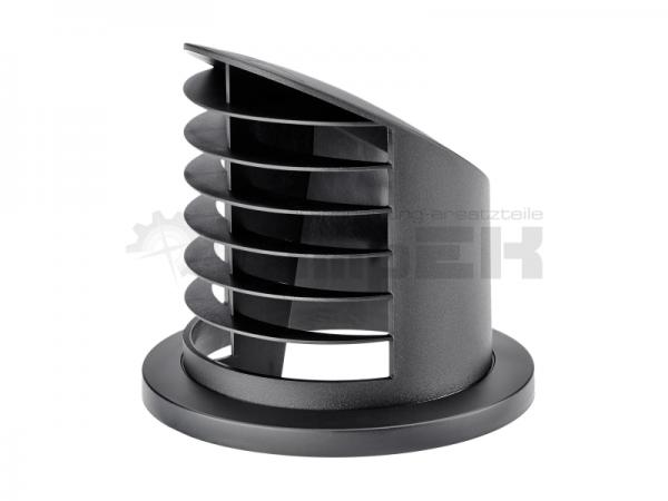 Original Eberspächer Ausströmer hoch 90° Ø 75 / 90 mm schwarz