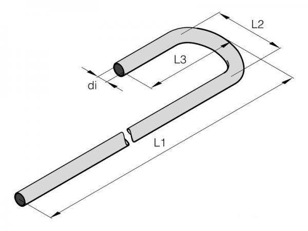 201645890002 Eberspächer Wasserschlauch Bogenschlauch Formschlauch 18