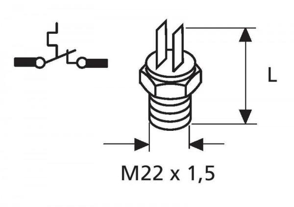 Thermostat 62-70°