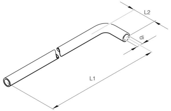 201673800001 Eberspächer Wasserschlauch Formschlauch Schlauch 20