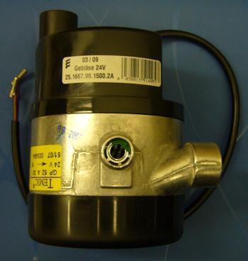 Verbrennungsluftgebläse 24V, D 7W