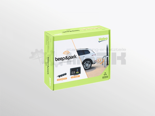 632201 3276426322010 Valeo Einparkhilfe beep&park Kit 2