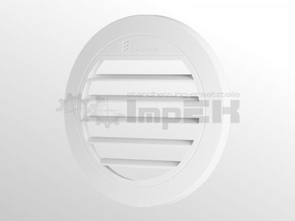 Original Eberspächer Ausströmer flach 30° Ø 75/90 mm weiß