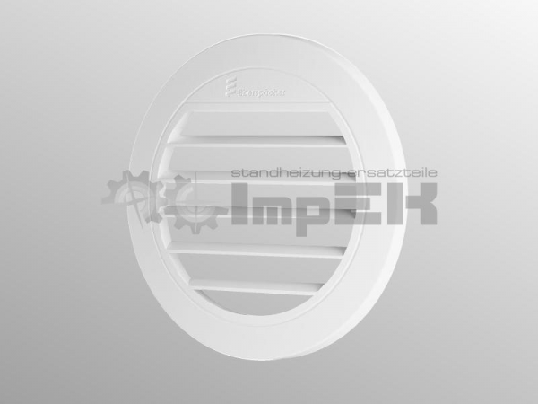 Original Eberspächer Ausströmer flach 0° 50/60 mm weiß