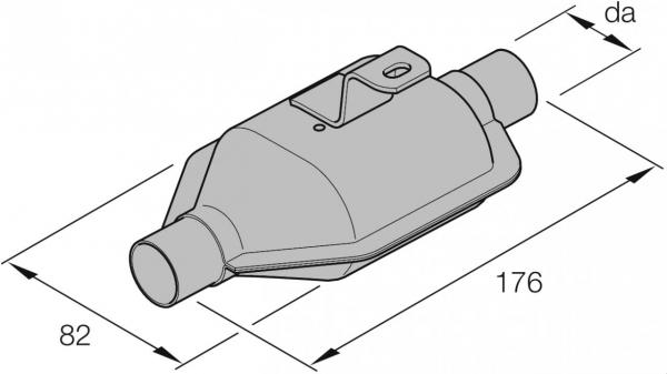 Original Eberspächer ZB-Katalysator