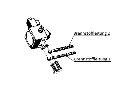 Eberspächer Brennstoffleitung Kraftstoffleitung Standheizung Ersatzteile 251595150010