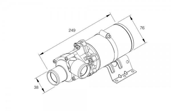 Wasserpumpe Flowtronic 5000S