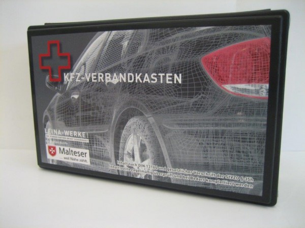 REF81575 4011166815755 LEINA Design KFZ Verbandkasten DIN 13164