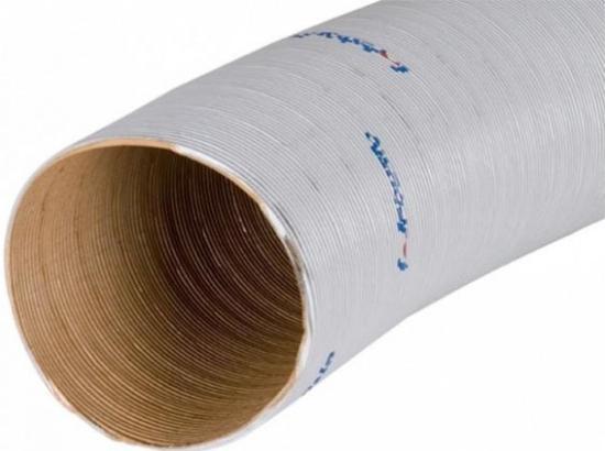 4054037069550 1321504A 1311897A PAPK-Flexrohr D60 2 m grau  Schlauch 60 mm Webast
