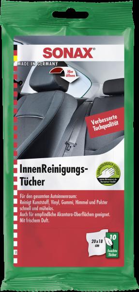 04159000 4064700415904 SONAX Innenraumreiniger InnenReinigungsTücher