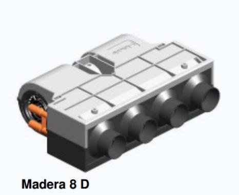 Heat Exchanger Madera 8, 12V