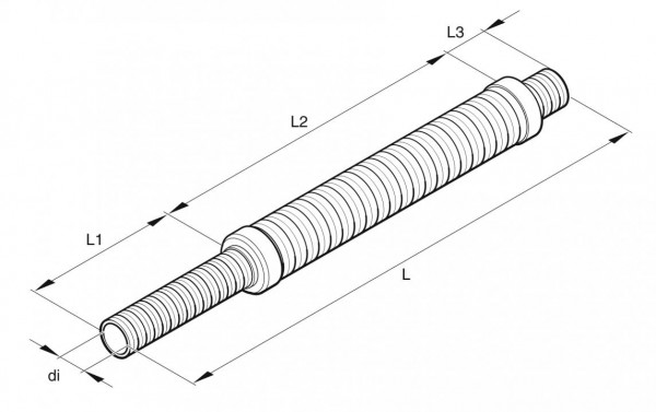 Original Eberspächer Verbrennungsluftschalldämpfer 25 mm